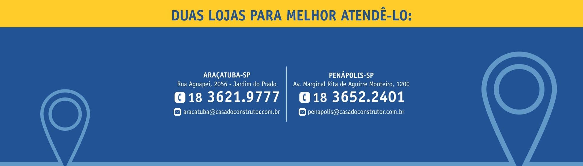Banner Araçatuba e Penápolis