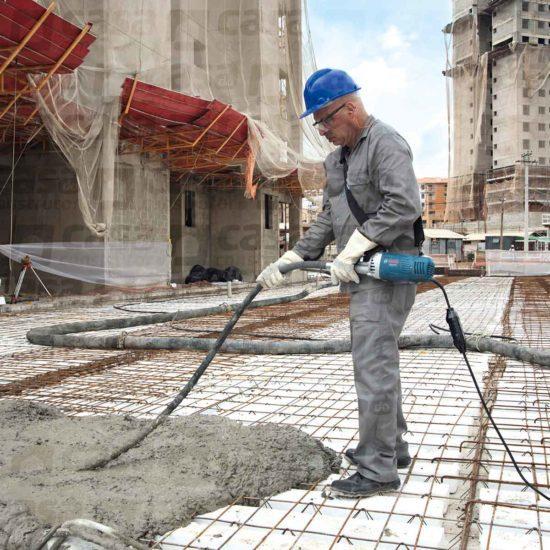 Vibrador para concreto