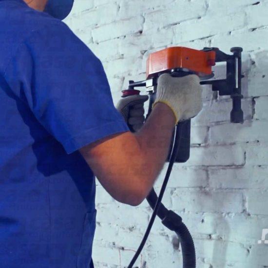 Cortadora de parede com disco 2