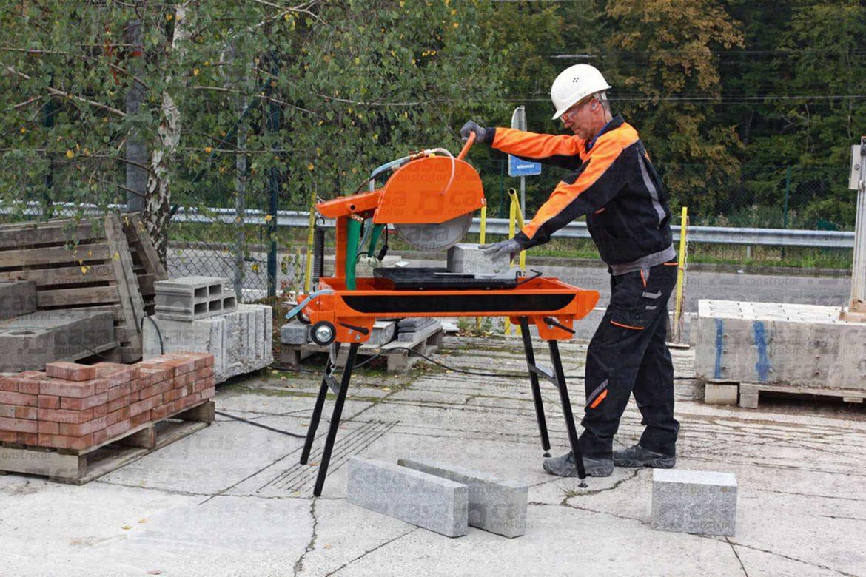 Safety cortadora de bloco