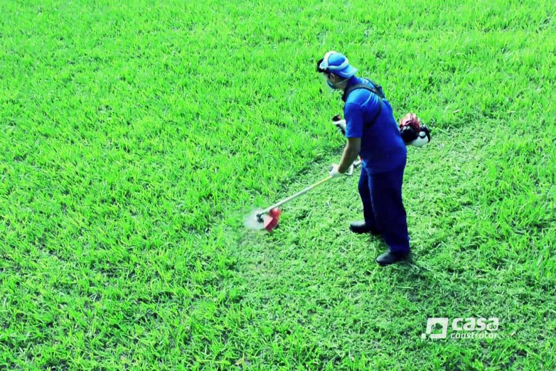 Safety roçadeira e cortadora de grama