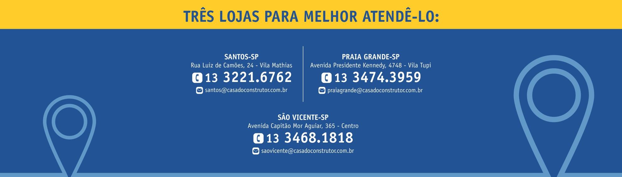 Banner Santos, Praia Grande e São Vicente