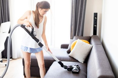 Limpeza pesada na casa